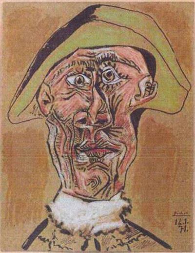 04 harlequin head 1971 pablo picasso από greynotgrey art blog