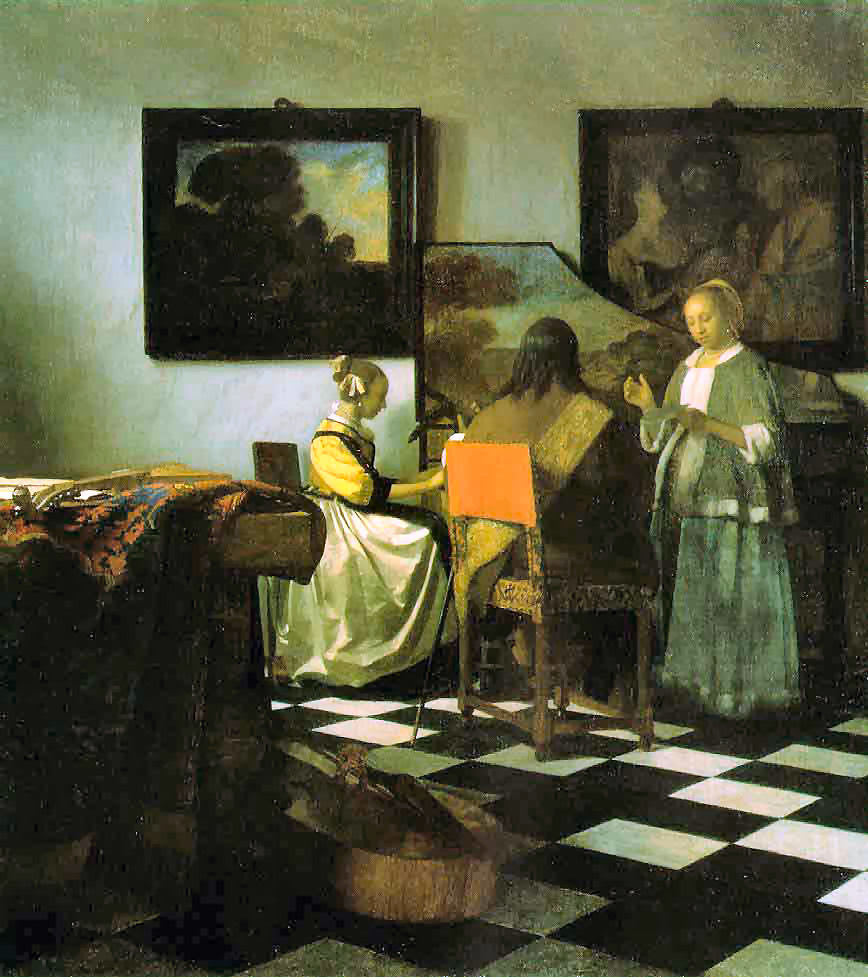10 Vermeer Le concert Από musique.beaucamps.free.fr